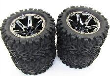 RUSTLER 4x4 TIRES & Wheels assembled (4) Talon Extreme Tyres Traxxas VXL 67076-4