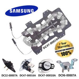 NEW ORIGINAL Samsung Dryer Heating Element assembly - DC47-00019A /  DC4700019A