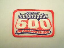 Vintage The 72nd May 29, 1988 Indianapolis 500 Iron On Patch