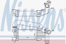 NISSENS 96592 Ladeluftkühler Astra H (04