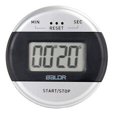 BALDR Kitchen Tool LCD Digital Timer Easy Setting by Seconds, Alarm Timer
