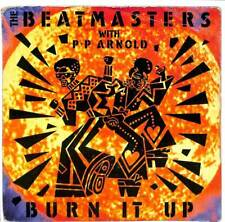 "The Beatmasters & P.P. Arnold - Burn It Up - 7"" Record Single"