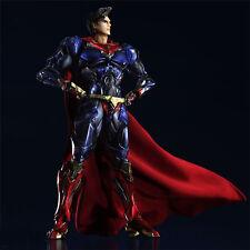 Play Arts Kai Superman Super Man Variante Action Figure Toy Doll Model Display