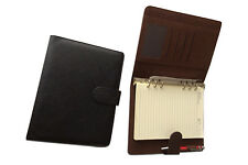 A5 PVC ring Binder suitable for standard filofax size Black colour