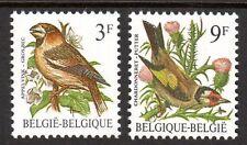 Belgium - 1985 Definitive birds - Mi. 2241-42 MNH