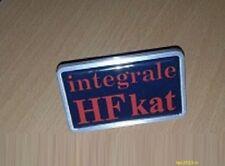 Lancia delta hf integrale 8 valvole kat badge stemma logo targhetta mascherina