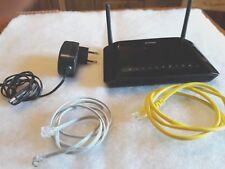 MODEM ROUTER D-LINK  WIRELESS 300Mbps N ADSL2+ DSL-2750B switch 4 porte