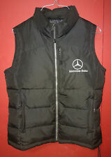 MERCEDES BENZ GOOSE DOWN / FEATHER NORTH END PUFFER VEST JACKET ALL CLIMATE WEAR