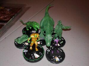 BEAST BOY dinosaur super rare 055 005b prime lot dc 75th anniversary Heroclix