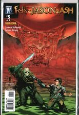 FREDDY vs JASON vs ASH #5 Horror Low Print Eric Powell (2008) NM+ (9.6)