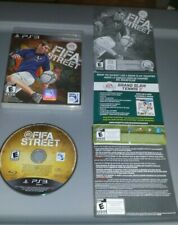FIFA Street (PlayStation 3, 2012) Complete PS3 Soccer Very Good Condition  CIB