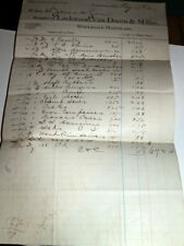 #3070,Lockwood,Van Doorn & Miller,Hardware,Cleveland O 1877 Billhead
