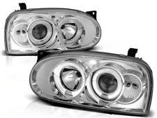 RINGS FAROS LPVW02 VW GOLF III 1991 1992 1993 1994 1995 1996 1997 CHROME