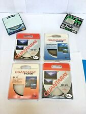 lot of 4 Quantaray  lens filters + PLUS 2