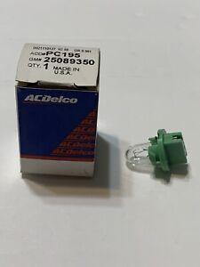 Instrument Light  AC Delco GM Original Equipment  PC195 (GM# 25089350)