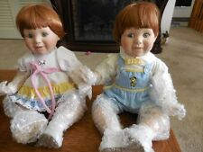 Katie and Kenny dolls from the Danbury mint still in original box