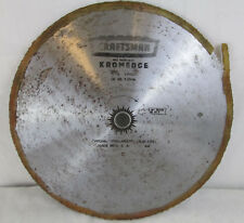 """SEARS CRAFTSMAN KROMEDGE PLY TOOTH 10"""" BLADE 9-32446 New Vintage Bench Saw Tool"""