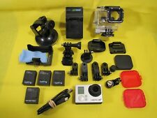 GoPro Hero3+ Plus  Camcorder <> w/HUGE Lot of Extras <CHDHX-302> BuyNOW~GetFAST