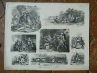 Litho Gihaut frères 1829 - Raffet - planche N°11