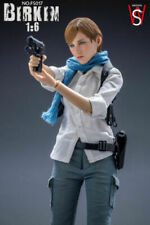 SWtoys 1/6 Sherry Birkin Resident Evil FS017 Sydney Platinum Model Action Figure