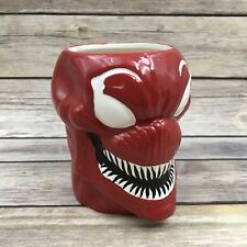 Loot Crate Marvel Carnage Molded 16oz Red Ceramic Mug Cup Spiderman Comic