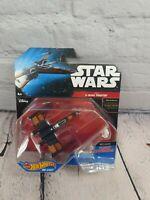 Hot Wheels Star Wars Poe's X-Wing Fighter NEW