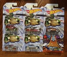 Christmas and New Years Complete Set of 6 - Hot Wheels (2019)