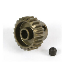 22T Titanium coated aluminium 48dp pinion gear for 1:10 RC  22 tooth 48 pitch.