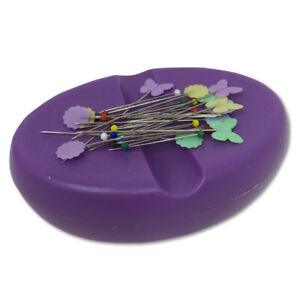 Crafters Dream Magnetic Pin & Needle Dish - Purple