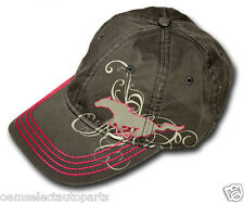 NEW OEM Ford Mustang Ladies Pink Baseball Hat Cap - ONE SIZE - Genuine Apparel