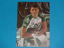 Postcard Cyclist - J.Engoulvent - Team Credit Farm -. Tour de France