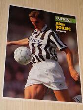 Q25 Poster Alen Boksic Juventus retro Cagliari 1996-1997