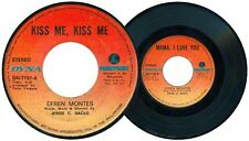Philippines EFREN MONTES Kiss Me, Kiss Me OPM 45 rpm Record