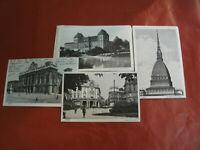 16 Cartoline TORINO Città Formato Piccolo Anni '20 Bianco e Nero