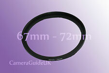 67mm a 72mm stepping 67mm-72mm STEP UP Filtro Anello Adattatore