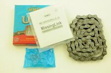 KMC UG51 SHIMANO 11/128 BIKE UNI GLIDE CHAIN & MISSING LINK FOR MTB ALL BIKES