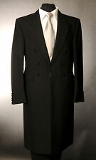 Gino Bellini Mens Winter Overcoat Trenchcoat Dark Navy Funeral Coat Medium | eBay