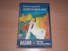 Roman  Gösta Berling von Selma Lagerlöf
