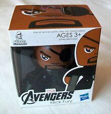 """MARVEL VENGADORES Mini Muggs Figura Nick Fury aproximadamente 3"""" De Alto Nuevo y Sellado"""