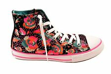 Converse Junior CT All Stars HI 654210C Sneakers Black/White UK 3 RRP £70 BCF74
