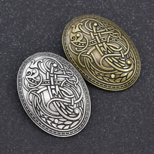 Men's Handmade Norse Viking Alloy Brooch Pin Shirt Charms Fashion Jewelry Gift