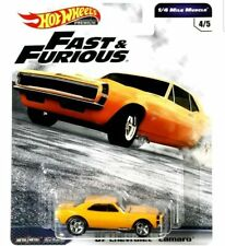 Hot Wheels Chevy Camaro 1967 Fast and Furious GBW75-956C 1/64