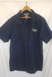 Goodyear 2XL Mechanics Shirt Large Logo Greatest Name in Rubber