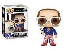 Pop! ROCKS ELTON JOHN 63 Elton John red White & Blue FUNKO