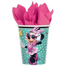 Minnie Mouse Happy Helpers 9 oz Paper Cups Birthday Party Supplies 8 Count New
