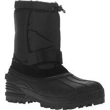 Men's Black Krugge Winter Boots Size 10, 12