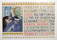 Coustant the Emperor Fairytale XIII Joseph Bedier 6 Illustrations Maurice Lane