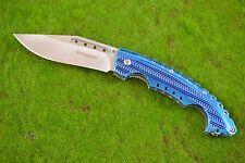 Böker Magnum Einhandmesser Blue Bowie Taschenmesser 01RY855