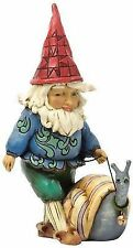 Jim Shore Heartwood Creek 4037669 Make Friends Gnome With Snail