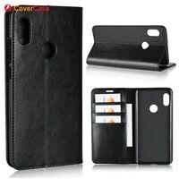 Luxury Genuine Leather Flip Wallet Stand Case Cover For Xiaomi Mi A2 (Mi 6X)